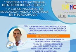 """VIVO, """"V Surson Nacional de Educacion  Medica Continua en Neurocirugia"""