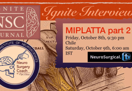 RECORDED, LIVE,  Ignite Interviews, with Iype Cherian MD interviewing Jorge Munas MD LIVE October 8, 2021
