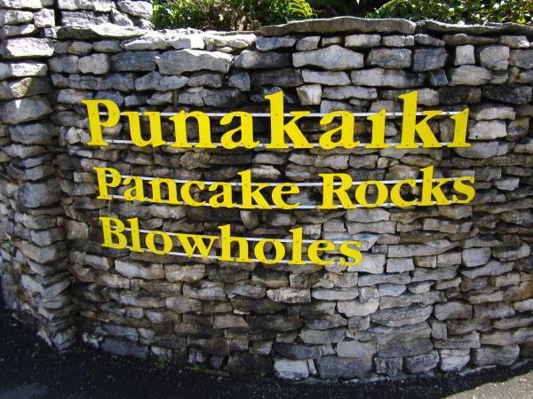 Pancake Rocks und Blowholes im Paparoa Nationpark