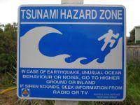 Warnung vor Tsunamis