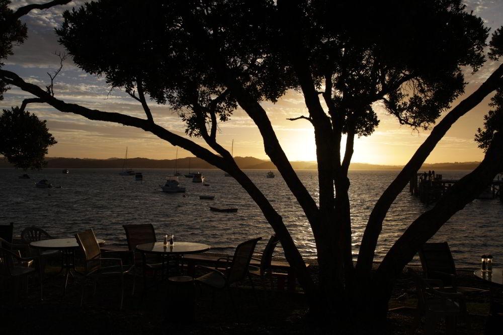 Sonnenuntergang in Russell