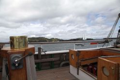 Blick vom Deck in die Bay of Islands
