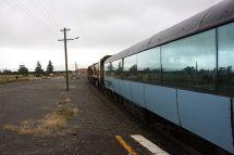 Start des TranzAlpine in Christchurch
