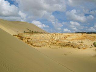 Ein Tal in der Dünenlandschaft