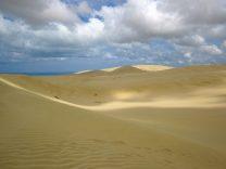 viel Sand an den Te Paki Sanddünen