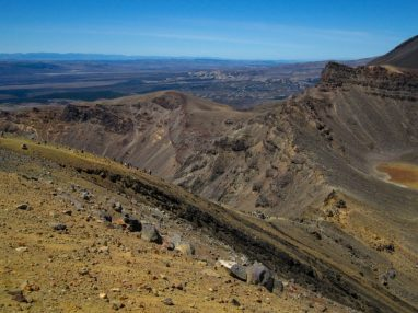 Aussichten am Wegesrand des Tongariro Alpine Crossing