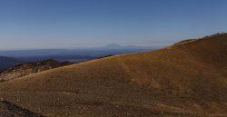 Mt. Taranaki im Hintergrund