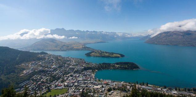 Queenstown, Remarables und Lake Christchurch und Lake Wakatipu