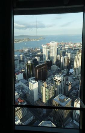 Aus- und Fernsicht vom Sky Tower