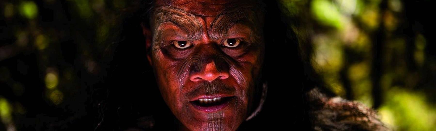 Film The Dead Lands Maori Gesicht