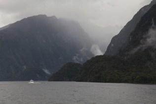 Sicht von Deep Cove in den Doubtful Sound