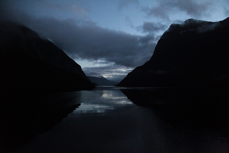 Stille im Doubtful Sound