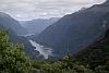 Doubtful Sound vom Wilmot Pass aus gesehen