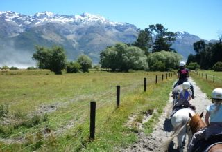 Horse Trekking bei Glenorchy