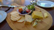 Käse schließt den Magen - die Nachspeise