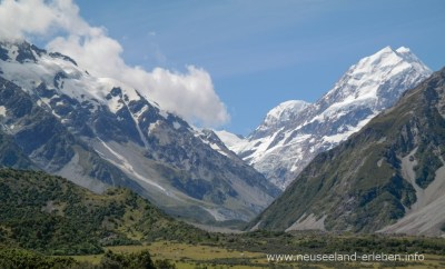 Mount Cook mit Hooker Valley