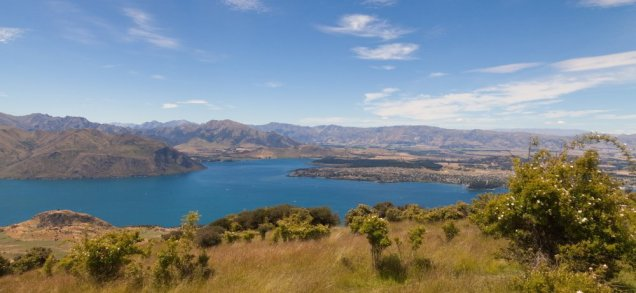 Wanaka und Lake Wanka.