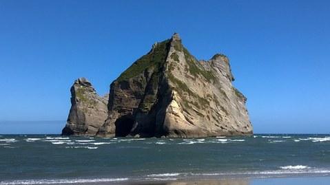 Blick auf die Archway Islands