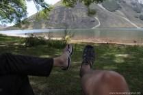 Kaffee Pause am Lake Pearson