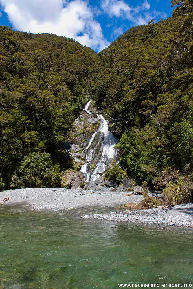 Fantail Falls - Haast Pass