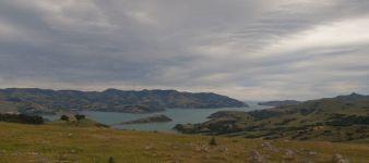 Ausblick auf Akaroa