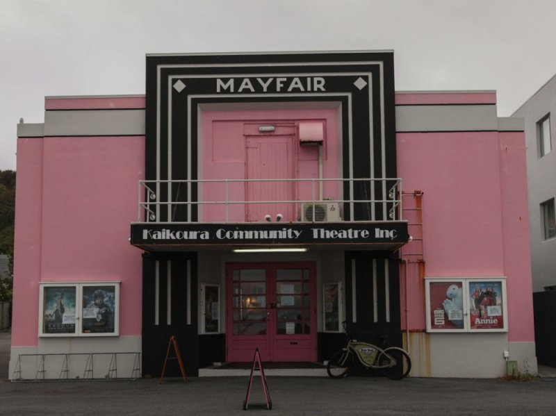 Das Kino in Kaikoura
