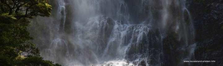 Devils Punchball Wasserfall auf Neuseeland