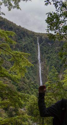 Humbold Falls auf Neuseeland