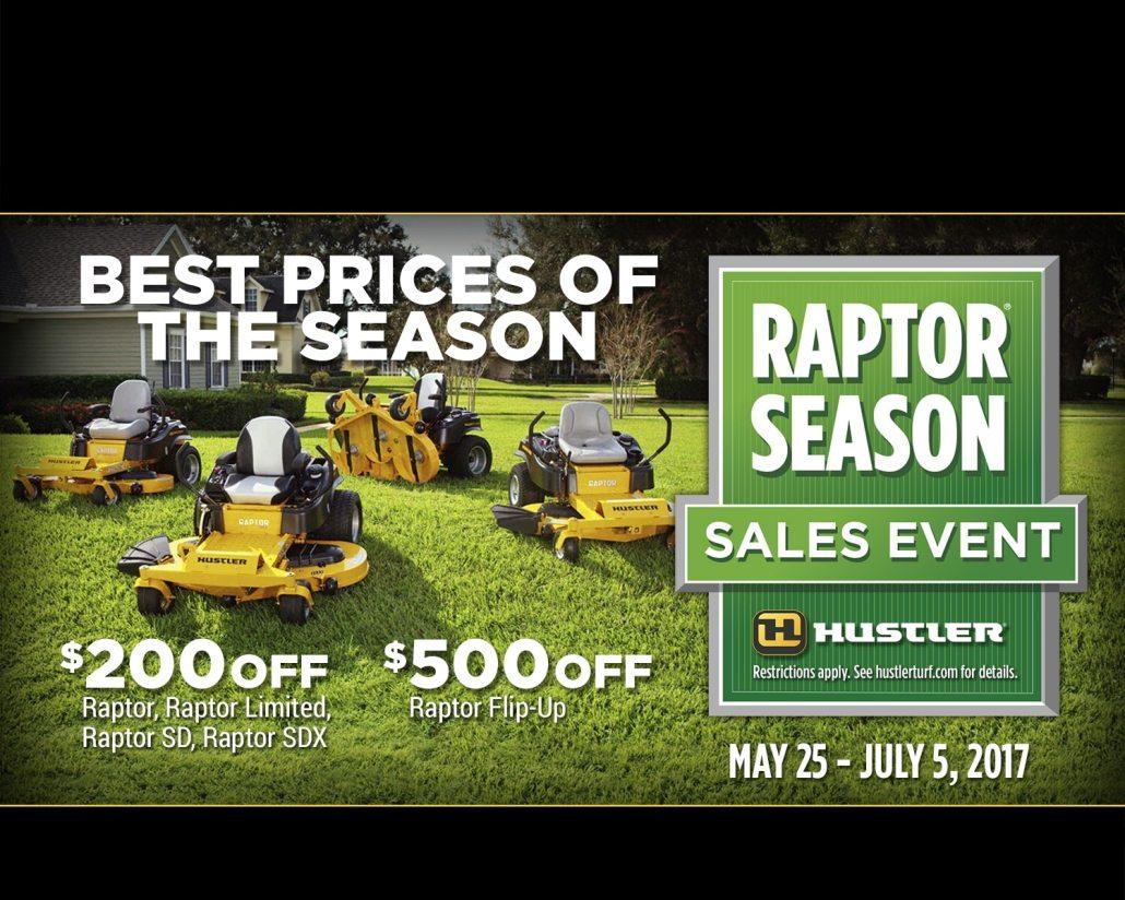 raptor season sales event