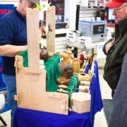 wood carving at Neu's Woodworking Show