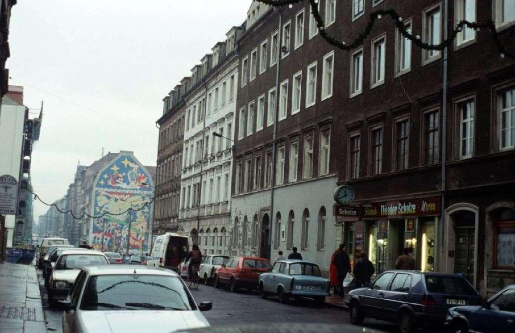 Louisenstraße mit Juwelier - Foto: Lothar Lange