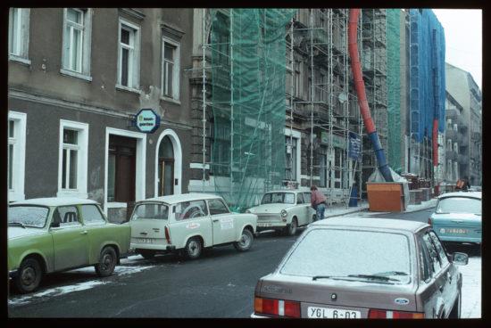 Alaungarten kurz nach der Wende - Foto: Lothar Lange