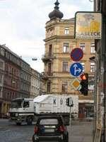 Ampel an der Rothenburger Straße