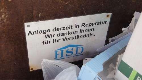 """""""Container außer Betrieb"""""""