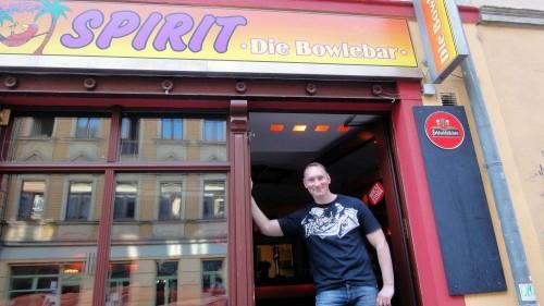"""""""Spirit, die Bowlebar"""" ist Tobias Fischers erster gastronomischer Versuch."""