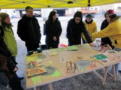 Konzept für Spielplatz auf dem Drewag-Gelände