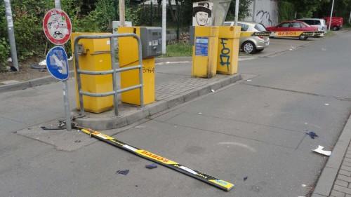 Schrankenlos parken - Gesehen vom Gehilfen Oph