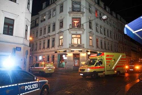Der Rettungsdienst war schnell vor Ort. Foto: brennpunktfoto