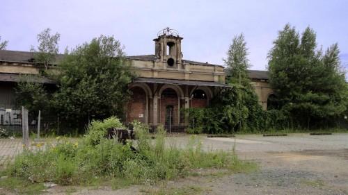 Die Gebäude sollen wiederhergestellt werden.