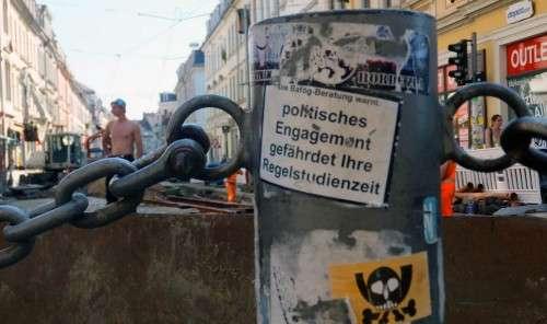 Gesehen an der Baustelle Louisen-/Ecke Görlitzer Straße