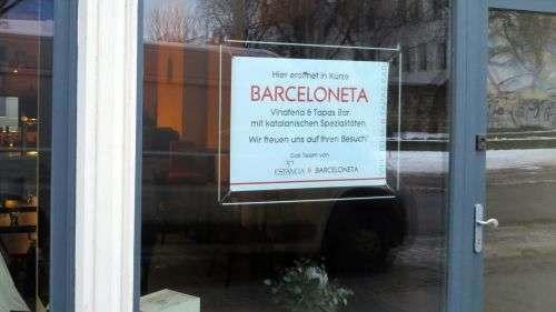 """""""Barceloneta"""" Wein und Tapas auf der Alaunstraße"""