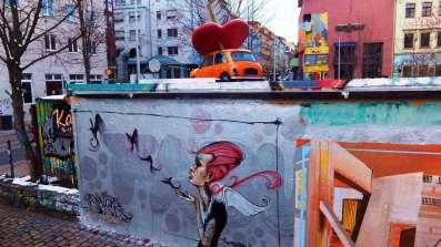 der Neustadt meiste Graffiti-Wand ...