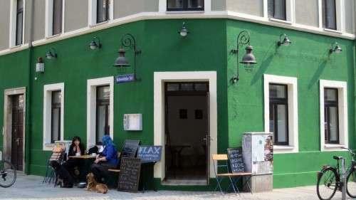 Freches Grün für die Kamenzer Straße