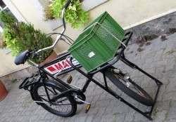 Nicht nur per Auto, auch mit dem Rad naht Hilfe