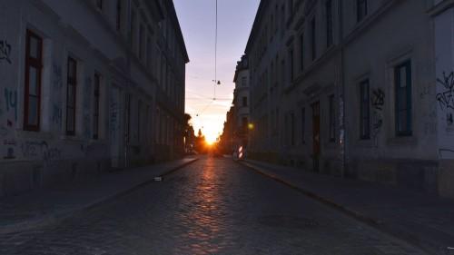 Neustadt-Henge - gesehen gestern am frühen Morgen - Foto: Mike Firchau