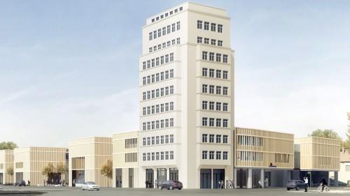 So soll das fertige Gebäude dann aussehen.