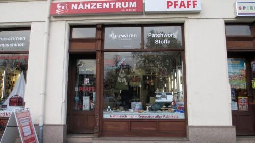 Umgarnt die Neustadt seit 1995: Nähzentrum Pfaff