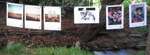 Die Bilder der Waterlounge-Wanderausstellung sind in der Creperie La Galette zu besichtigen