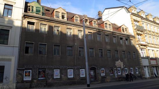 Bautzner Straße 73 - kein Denkmal - kann weggerissen werden.