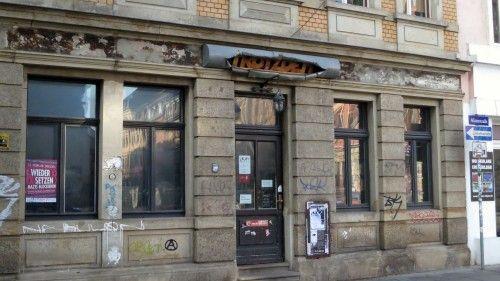 """Kneipe """"Trotzdem"""" auf der Alaunstraße"""